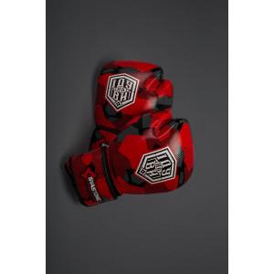 Боксёрские перчатки ІДУ на ВИ  RED