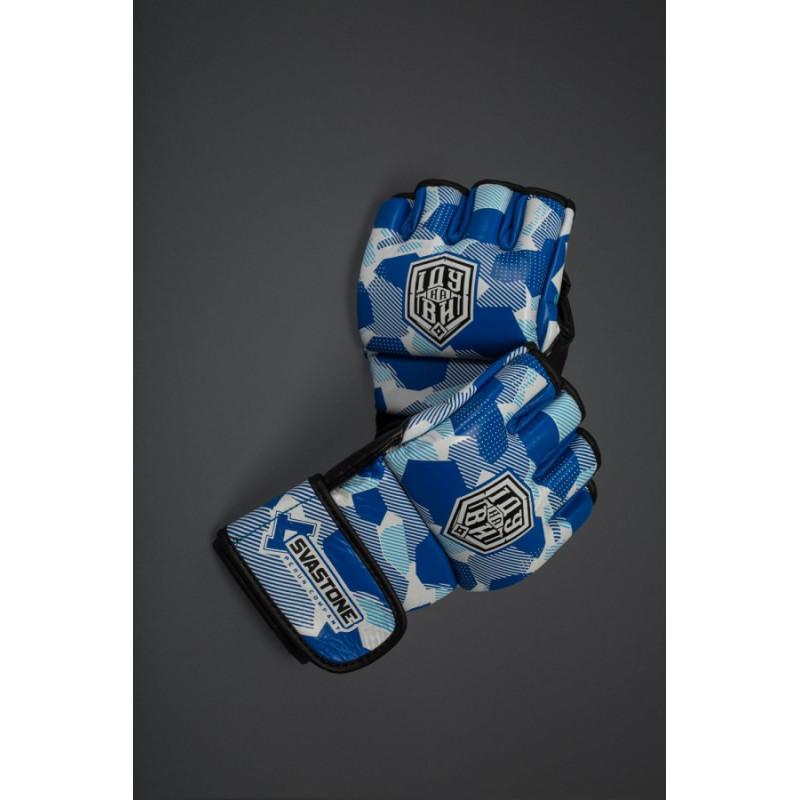 Перчатки для ММА SVA STONE ІДУ на ВИ BLUE (01630) фото 4