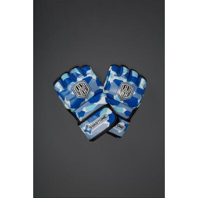 Перчатки для ММА SVA STONE ІДУ на ВИ BLUE (01630) фото 5
