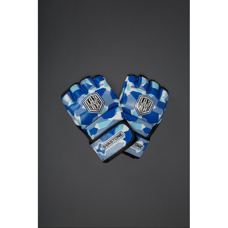 Рукавиці для ММА Іду на ВИ Сині (01630) фото 5