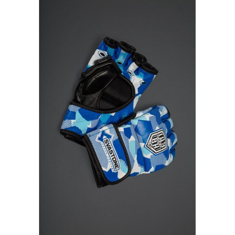 Перчатки для ММА SVA STONE ІДУ на ВИ BLUE (01630) фото 6