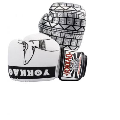 Боксерські рукавиці YOKKAO Anubis Gloves white (01765) фото 3