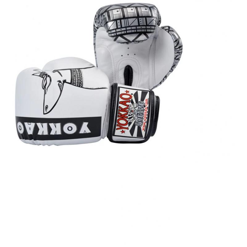 Боксерські рукавиці YOKKAO Anubis Gloves white (01765) фото 2