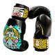 Боксёрские перчатки YOKKAO Apex Leopard Muay Thai black (01641)