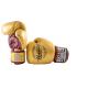 Боксёрские перчатки YOKKAO Vintage gloves gold (01766)