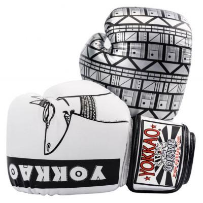 Боксерські рукавиці YOKKAO Anubis Gloves white (01765) фото 1