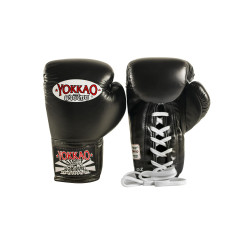 Перчатки YOKKAO Lace Up Matrix Gloves Black