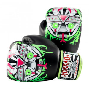 Боксёрские перчатки YOKKAO Apex Snake black