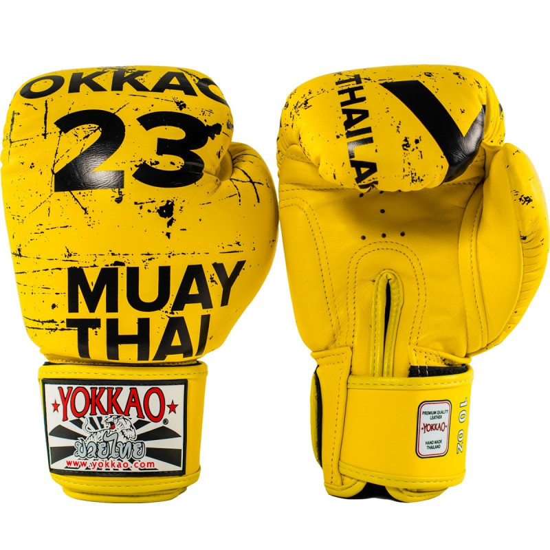 Перчатки YOKKAO Urban Yellow Gloves (01519) фото 2