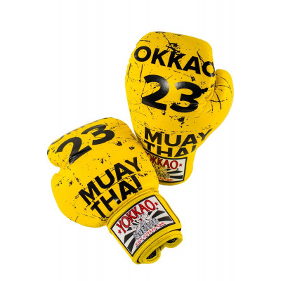 Перчатки YOKKAO Urban Yellow Gloves (01519) фото 6