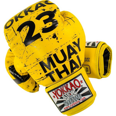 Перчатки YOKKAO Urban Yellow Gloves (01519) фото 3