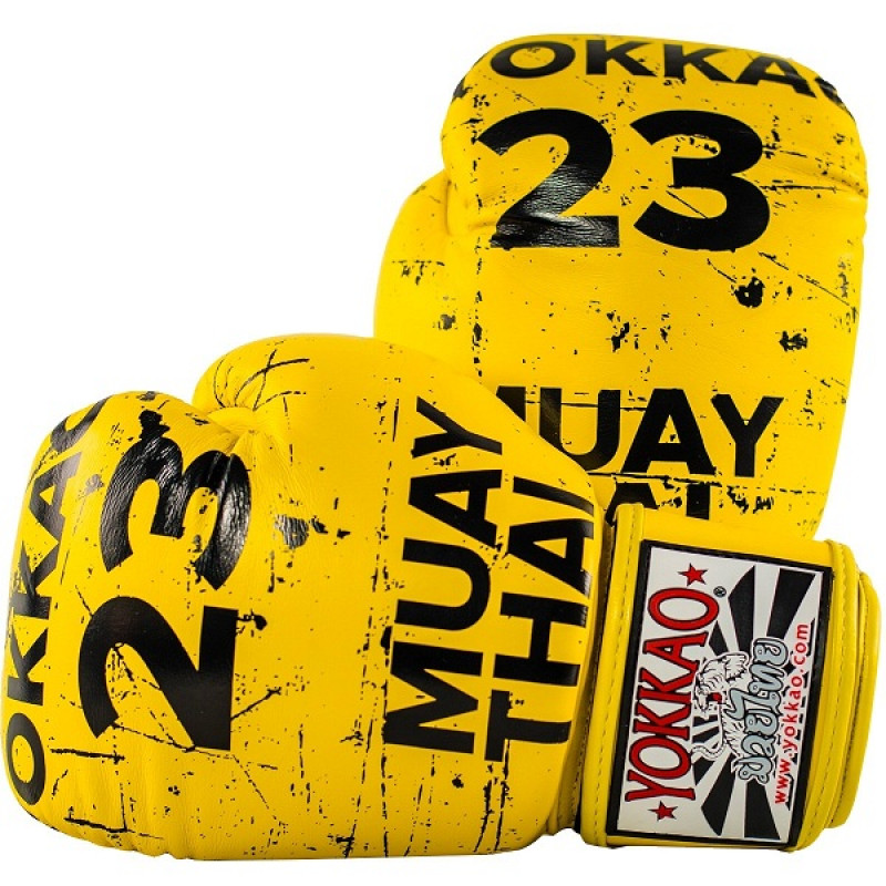 Перчатки YOKKAO Urban Yellow Gloves (01519) фото 1