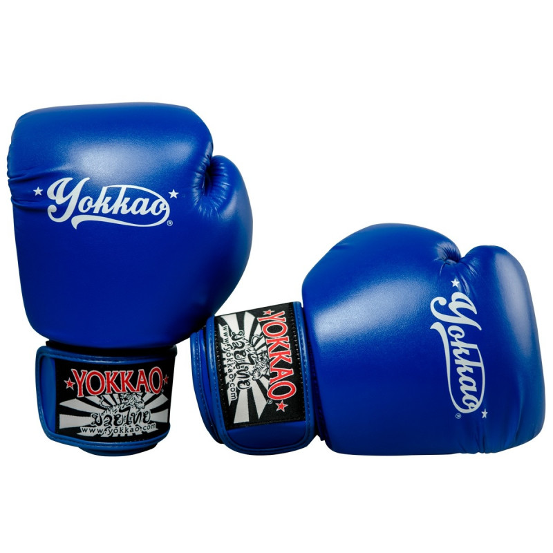 Перчатки YOKKAO Vertigo Blue Gloves (01460) фото 1