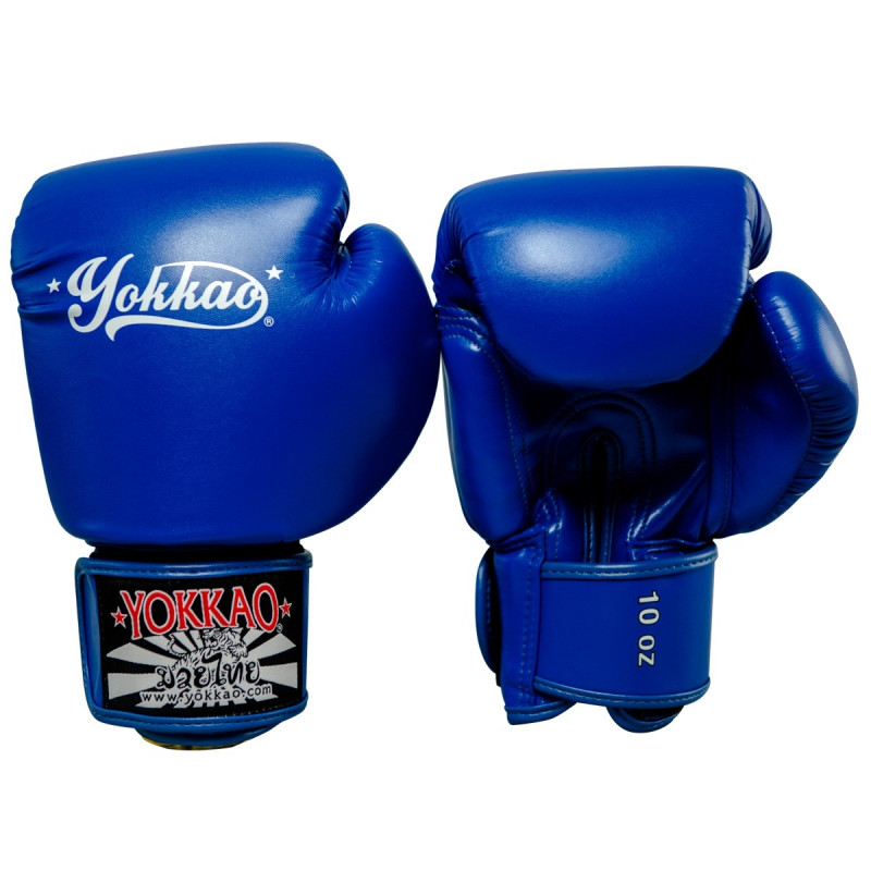 Перчатки YOKKAO Vertigo Blue Gloves (01460) фото 2