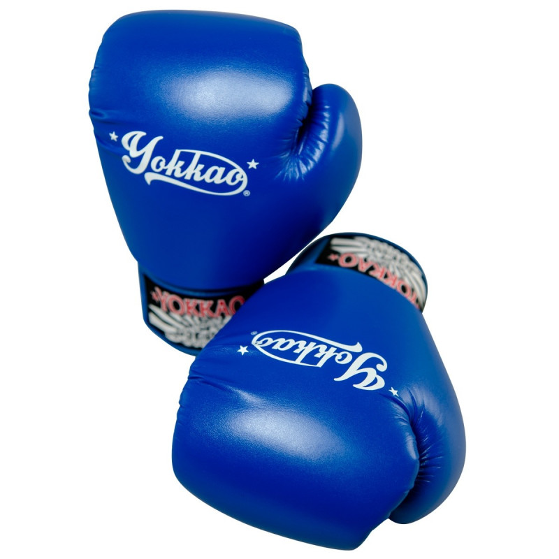Рукавиці YOKKAO Vertigo Blue Gloves (01460) фото 3