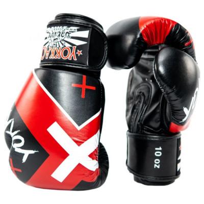 Боксёрские перчатки YOKKAO Vertigo X  Muay Thai black (01647) фото 3