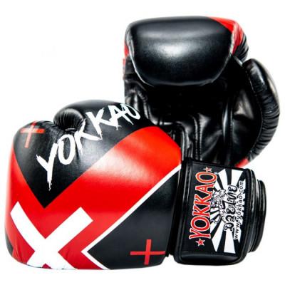 Боксёрские перчатки YOKKAO Vertigo X  Muay Thai black (01647) фото 2