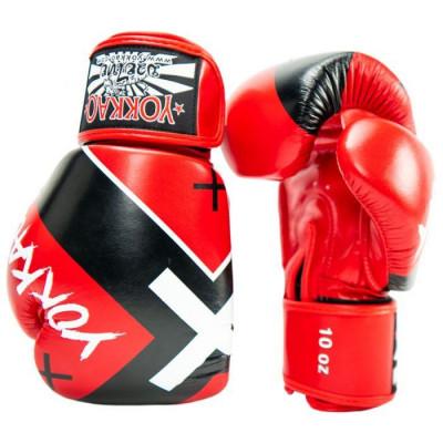 Боксерські рукавиці YOKKAO Vertigo X red (01768) фото 3