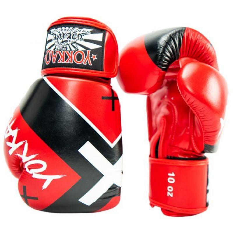 Боксёрские перчатки YOKKAO Vertigo X red (01768) фото 3