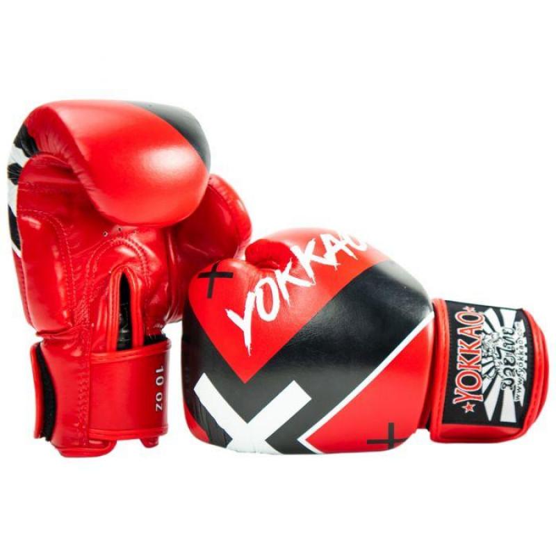 Боксерські рукавиці YOKKAO Vertigo X red (01768) фото 2