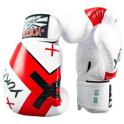 Боксёрские перчатки YOKKAO Vertigo X Muay Thai white (01648) фото 3