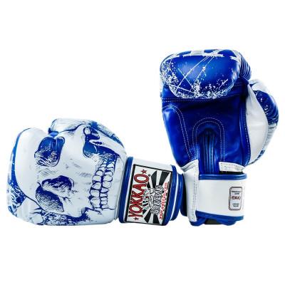 Перчатки боксёрские YOKKAO Skullz Muay Thai Gloves (01521)