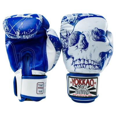 Перчатки боксёрские YOKKAO Skullz Muay Thai Gloves (01521) фото 4