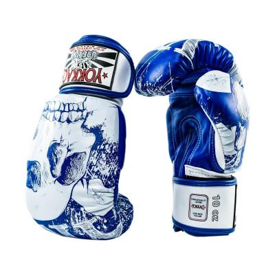 Перчатки боксёрские YOKKAO Skullz Muay Thai Gloves (01521) фото 3