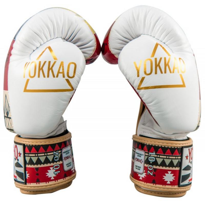 Боксёрские перчатки YOKKAO Freedom Muay Thai gloves  (01652) фото 3