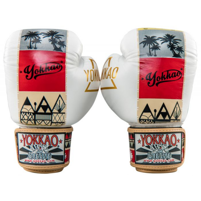 Боксёрские перчатки YOKKAO Freedom Muay Thai gloves  (01652) фото 4