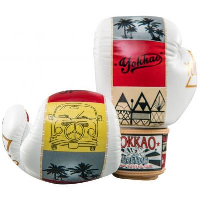 Боксерські рукавиці YOKKAO Freedom Muay Thai gloves (01652) фото 5