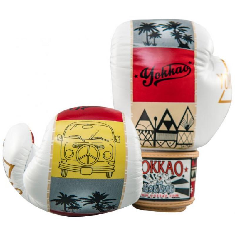 Боксёрские перчатки YOKKAO Freedom Muay Thai gloves  (01652) фото 5