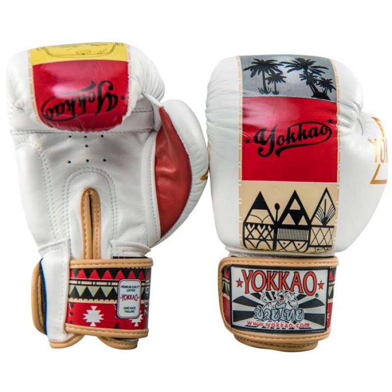 Боксёрские перчатки YOKKAO Freedom Muay Thai gloves  (01652) фото 2