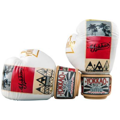Боксёрские перчатки YOKKAO Freedom Muay Thai gloves (01652)