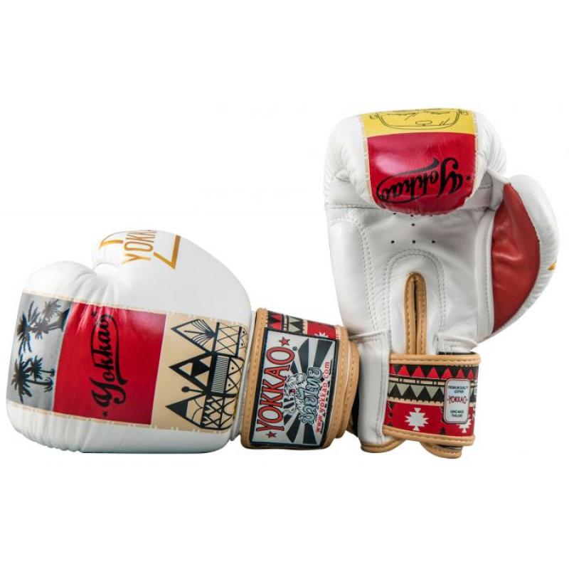 Боксёрские перчатки YOKKAO Freedom Muay Thai gloves  (01652) фото 6