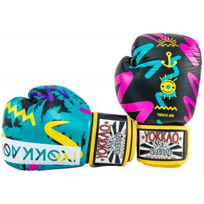 Боксерські рукавиці YOKKAO Miami gloves Muay Thai (01653) фото 4