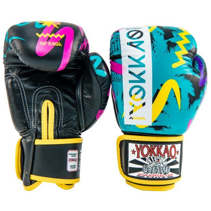 Боксерські рукавиці YOKKAO Miami gloves Muay Thai (01653) фото 3