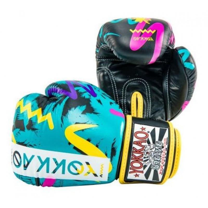 Боксерські рукавиці YOKKAO Miami gloves Muay Thai (01653) фото 6