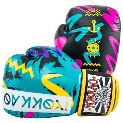 Боксерські рукавиці YOKKAO Miami gloves Muay Thai (01653) фото 1