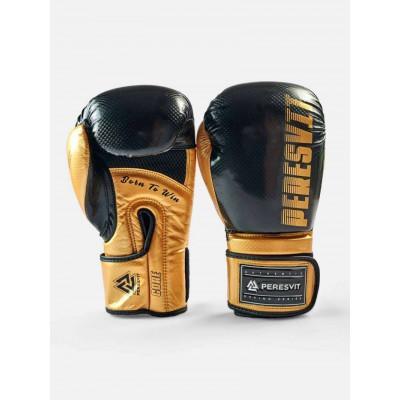 Боксерські рукавички Peresvit Core Boxing B/Gold (02126) фото 2