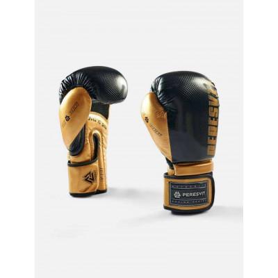 Боксерські рукавички Peresvit Core Boxing B/Gold (02126) фото 3