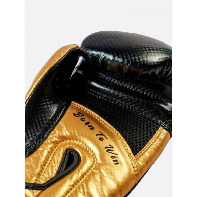 Боксерські рукавички Peresvit Core Boxing B/Gold (02126) фото 6