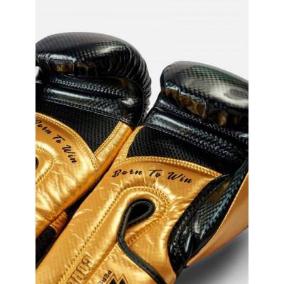 Боксерські рукавички Peresvit Core Boxing B/Gold (02126) фото 8