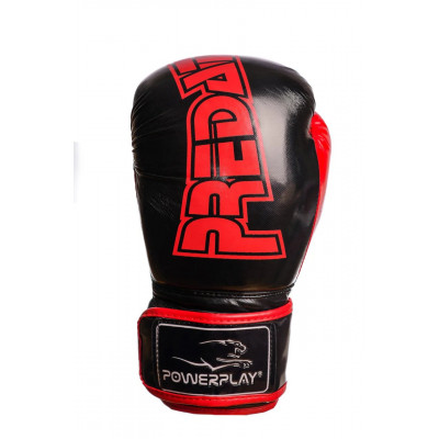 Боксерские рукавицы PowerPlay 3017 Карбон (01797) фото 6