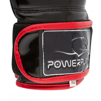 Боксерские рукавицы PowerPlay 3017 Карбон (01797) фото 5
