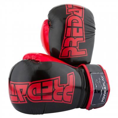 Боксерские рукавицы PowerPlay 3017 Карбон (01797) фото 1