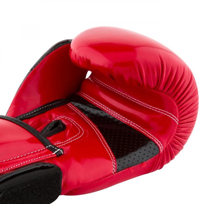Боксёрсские перчатки PowerPlay Red 3017 красные (01796) фото 2