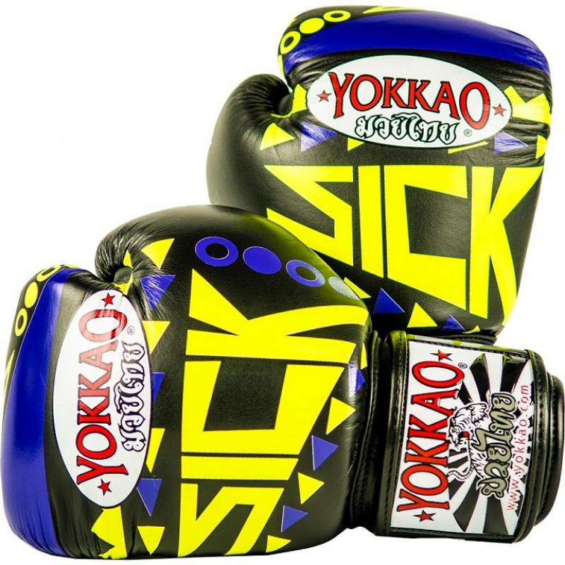 Перчатки YOKKAO Velcro-Sick Gloves (01201) фото 1