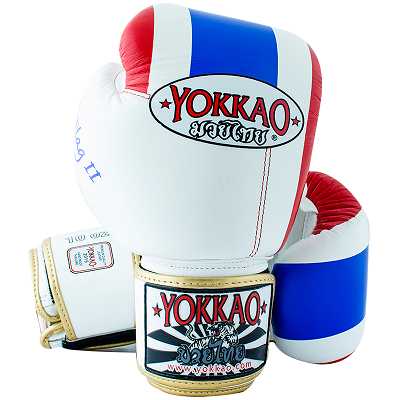 Перчатки YOKKAO Velcro Thai Flag II real leather (01195) фото 3