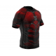 Рашгард SMMASH RASHGUARD SHORT RED ARMOUR ММА (01414)
